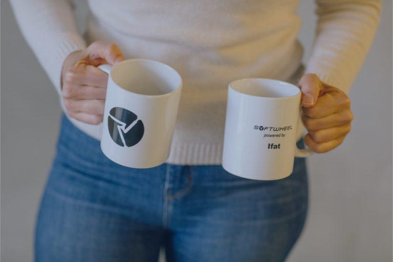 SoftWheel mugs