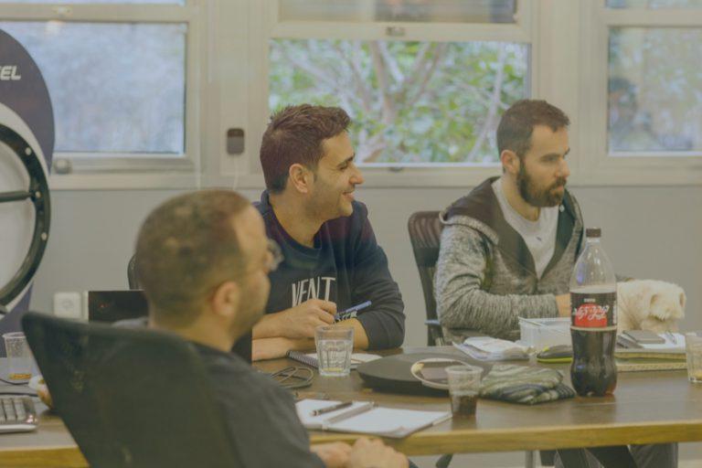 SoftWheel team meeting